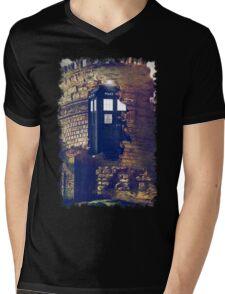 Call Box Geek T-Shirt / Hoodie Mens V-Neck T-Shirt