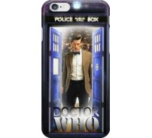 Ninth Doctor Blue Box T-Shirt / Hoodie iPhone Case/Skin