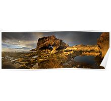 Golden Arch Pan Poster