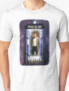 Ninth Doctor Blue Box T-Shirt / Hoodie T-Shirt