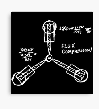 Flux capacitor / Back to the futur ( BTTF ) Canvas Print