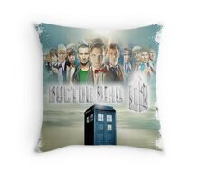 Blue Box Cover Tardis T-Shirt ? Hoodie Throw Pillow