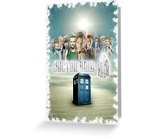 Blue Box Cover Tardis T-Shirt ? Hoodie Greeting Card