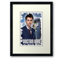 Nerdy Dr Who T-Shirt / Hoodie Framed Print