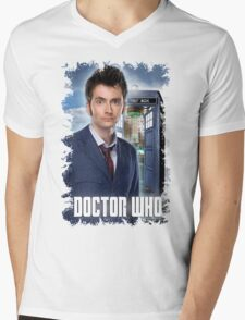 Nerdy Dr Who T-Shirt / Hoodie Mens V-Neck T-Shirt