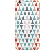 Triangles pattern iPhone Case/Skin