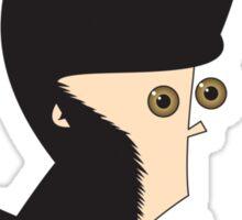 Chimp Sticker
