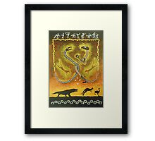 Ancient Australia Framed Print