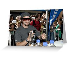Autograph Signing - Manly Element Store Greeting Card