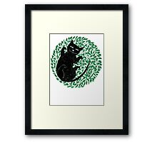 Summer cat Framed Print