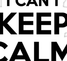I cant keep calm Im a VINCENT Sticker