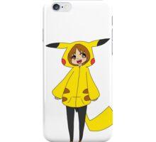 Pikachu girl iPhone Case/Skin