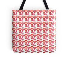 tomato and chili pattern Tote Bag