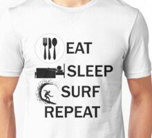 EAT-SLEEP-SURF-REPEAT Unisex T-Shirt
