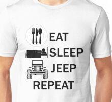 EAT-SLEEP-JEEP-REPEAT Unisex T-Shirt
