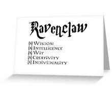 I'm a Ravenclaw Greeting Card