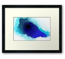 Deepend Framed Print