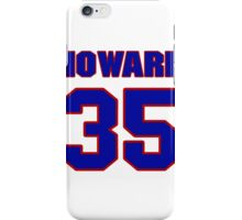 National Hockey player Jimmy Howard jersey 35 iPhone Case/Skin
