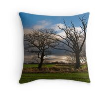 Mr and Mrs Tree Throw Pillow
