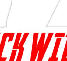 I Want My Black Widow Movie  Sticker