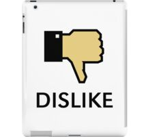 Dislike (Thumb Down) iPad Case/Skin