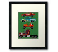 The Car's The Star: M.A.S.K. Framed Print