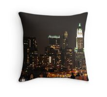 Where is the World Trade Center? Throw Pillow