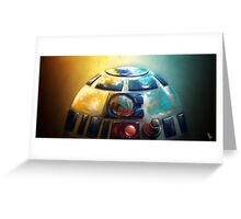 The droid you're looking for? Greeting Card