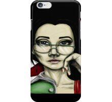 Smart lady iPhone Case/Skin