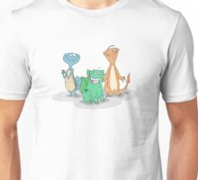 Char, Squirt, and Bulby Unisex T-Shirt