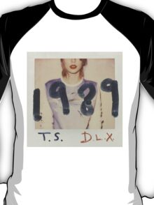 T.S. 1989 D.L.X. Album cover T-Shirt