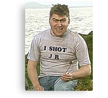 FATHER TED - TOM - I SHOT JR Canvas Print