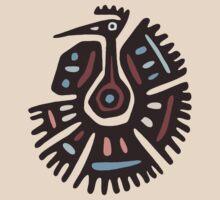 Inca Animals: Turkey - Cool Bird by Denis Marsili - DDTK