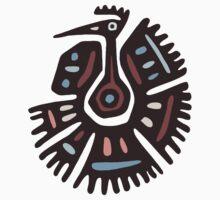 Inca Animals: Turkey - Cool Bird One Piece - Short Sleeve