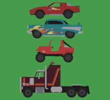 The Car's The Star: M.A.S.K. by Paulychilds