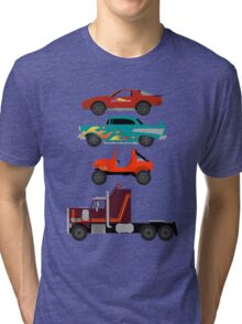 The Car's The Star: M.A.S.K. Tri-blend T-Shirt