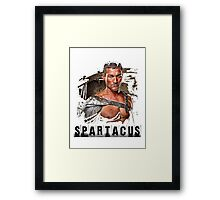 Spartacus - Blood and Sand - Andy Whitfield Framed Print