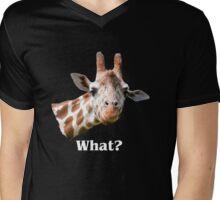 what? Mens V-Neck T-Shirt