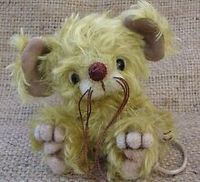 Ragamuffin Mouse. Handmade bears from Teddy Bear Orphans by Penny Bonser