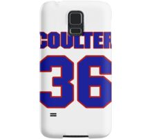 National Hockey player Neal Coulter jersey 36 Samsung Galaxy Case/Skin