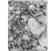 Squiggles on your iPhone - Psychedelic Art iPad Case/Skin