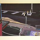 Tram Line (painting) by Joan Wild
