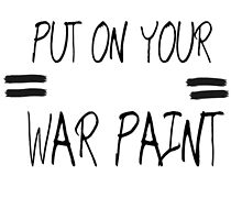 The Phoenix - Put On Your War Paint Design  by haijet