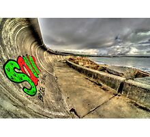 Penzance Graffiti  Photographic Print
