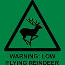 Warning: Reindeer by byway