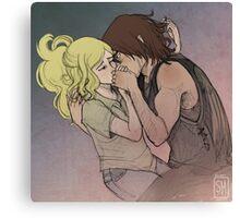 Daryl Dixon & Beth Greene - 03 Canvas Print