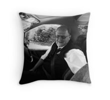 What I Look Forward To Most After Returning From A Long Tour Of India.......Is A Dry Fart!! Throw Pillow