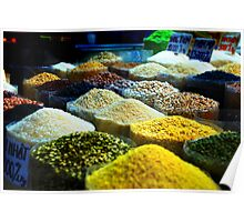 Spices in the markets Poster