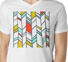 eloi:  frank lloyd wright/sga gridwork Mens V-Neck T-Shirt