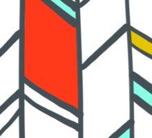 eloi:  frank lloyd wright/sga gridwork Sticker